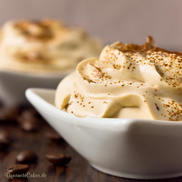 Espresso-Quark-Creme zuckerfrei
