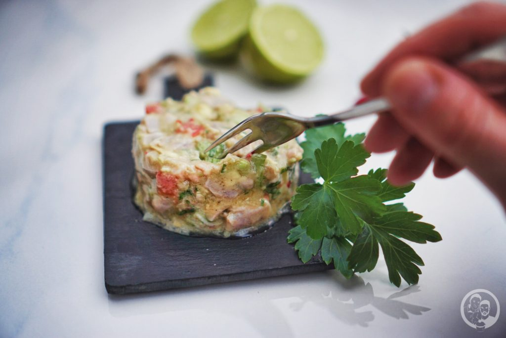 Thunfisch Ceviche Step by Step