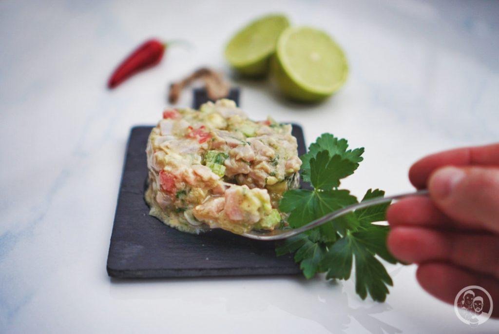 Thunfisch Ceviche Anleitung