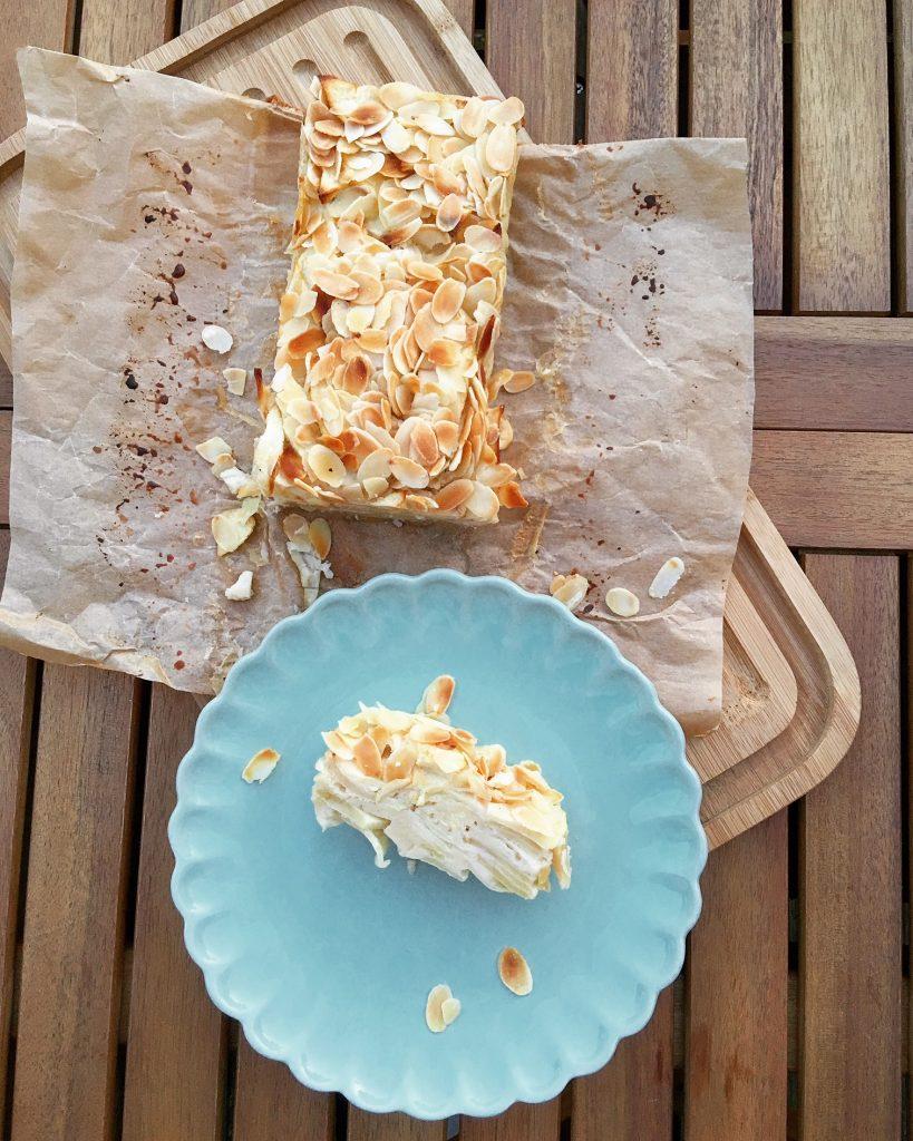 Invisible Cake Low Carb mit Äpfeln und Mandeln ganz einfach