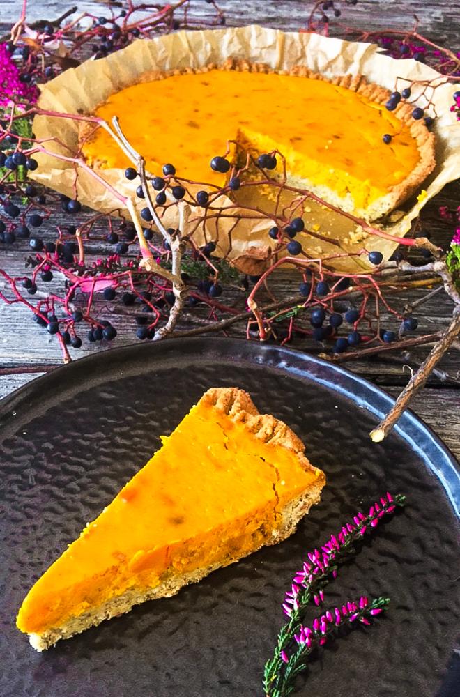 Kürbis Pie Low Carb lecker und einfach
