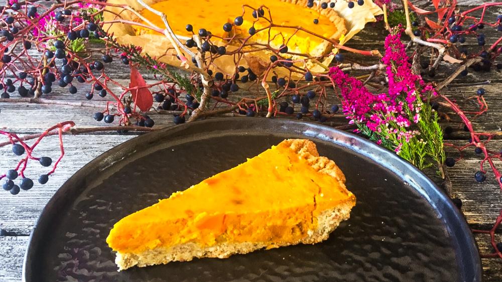Kürbis Pie Low Carb