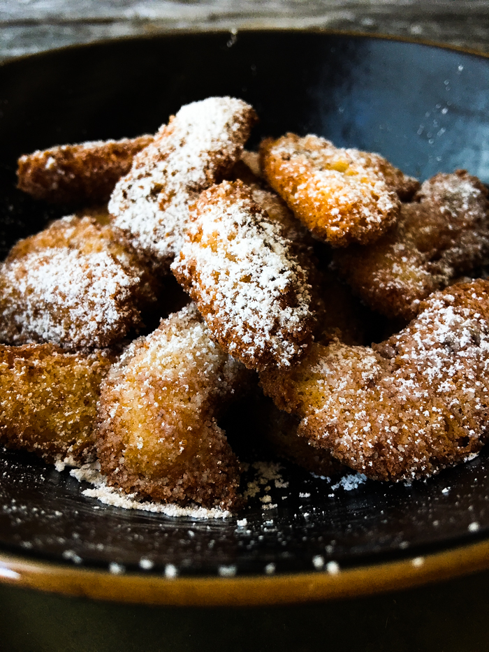 Knusprige Churros oder Funnel Cakes ohne Zucker und Mehl Low Carb