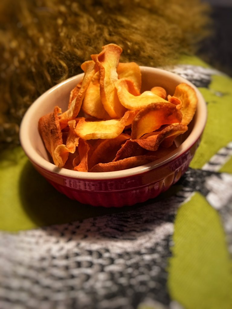 Gesunde Low Carb Chips ratzfatz