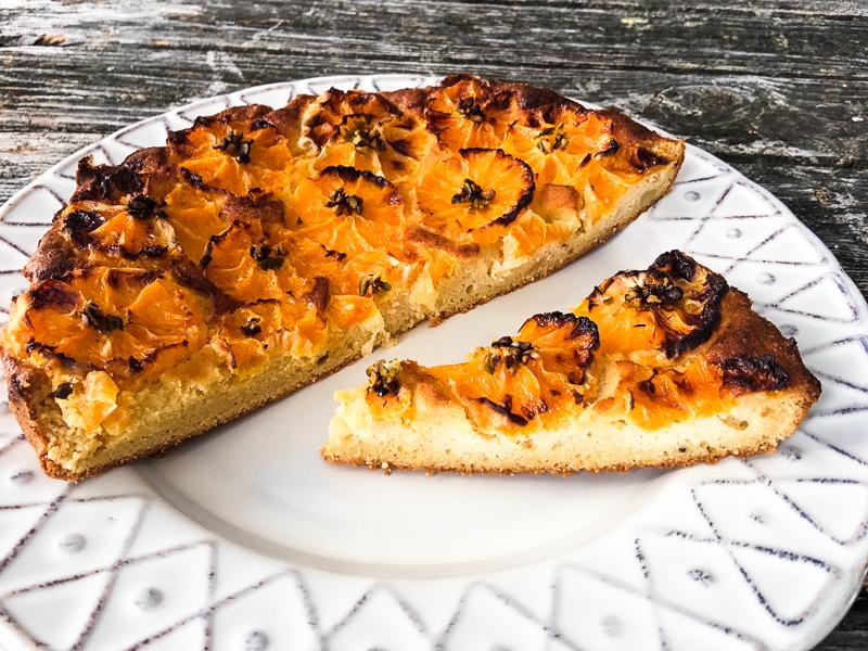 Zitrusfrüchte-Mandelkuchen Low Carb