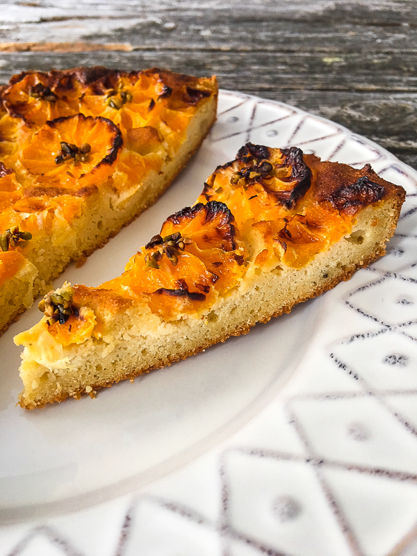 Spanischer Zitrusfrüchte-Mandelkuchen Low Carb