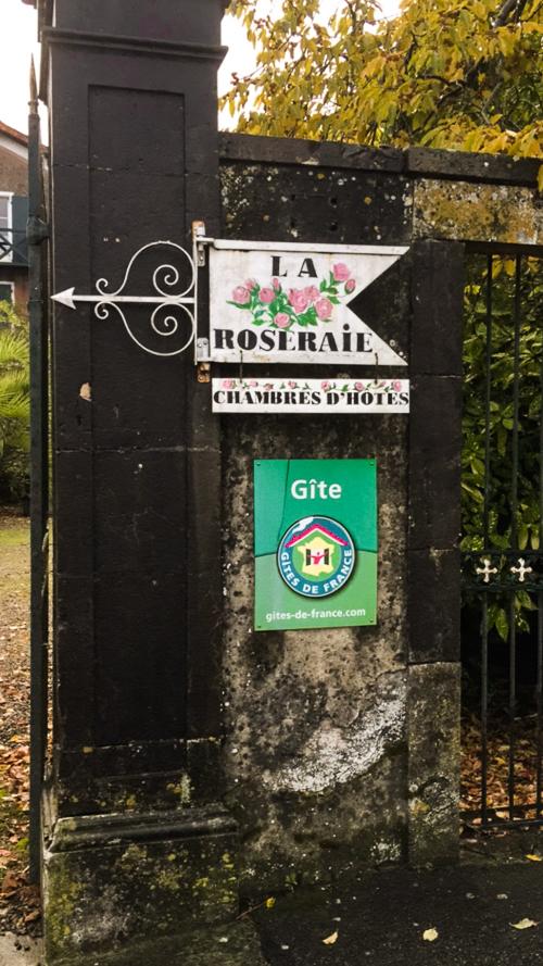 La Roseraie Auberge