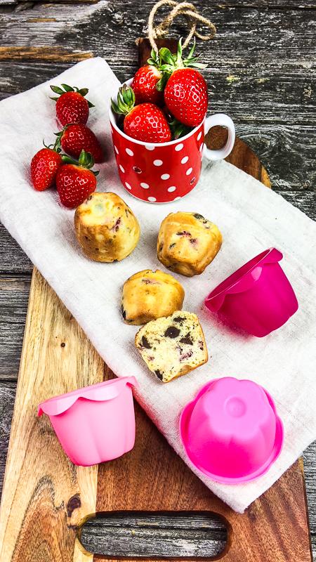 Jogurette Muffins ohne Mehl und Zucker