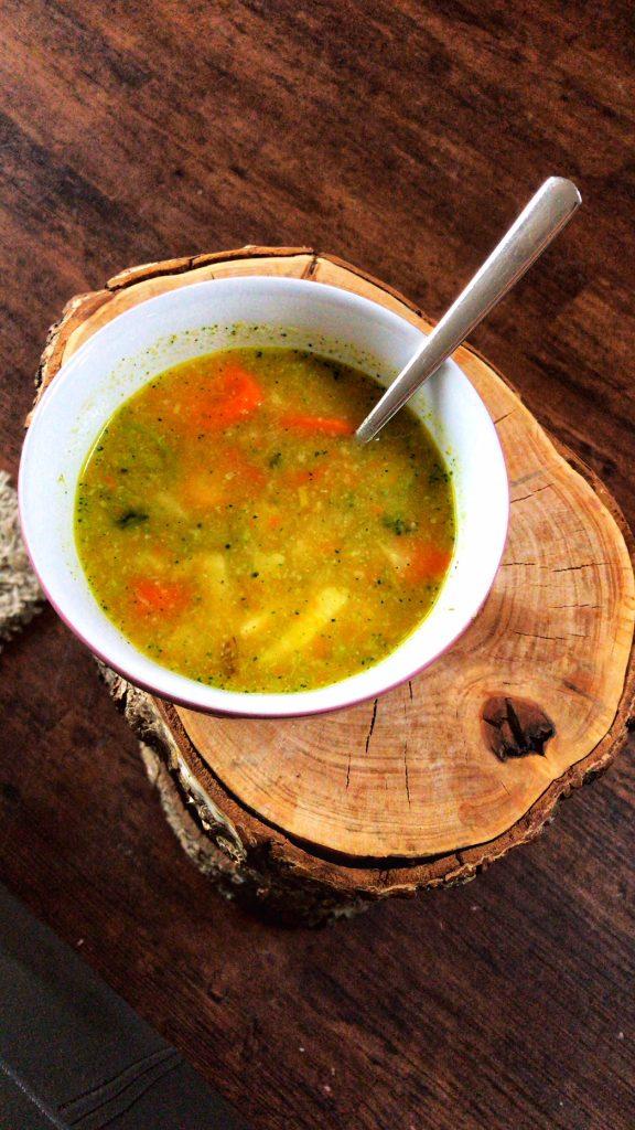 Fasten - Entlastungstag 1 Gemüsesuppe