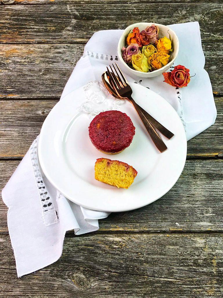 Poke Mini Cake Low Carb - zuckerfrei, mehlfrei, glutenfrei