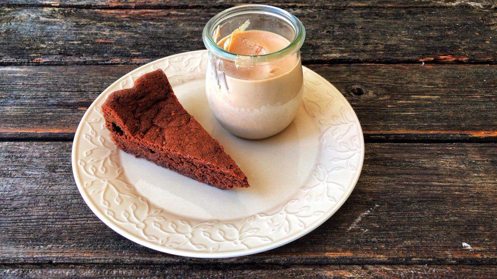 Macdamia-Schokoladenkuchen low carb