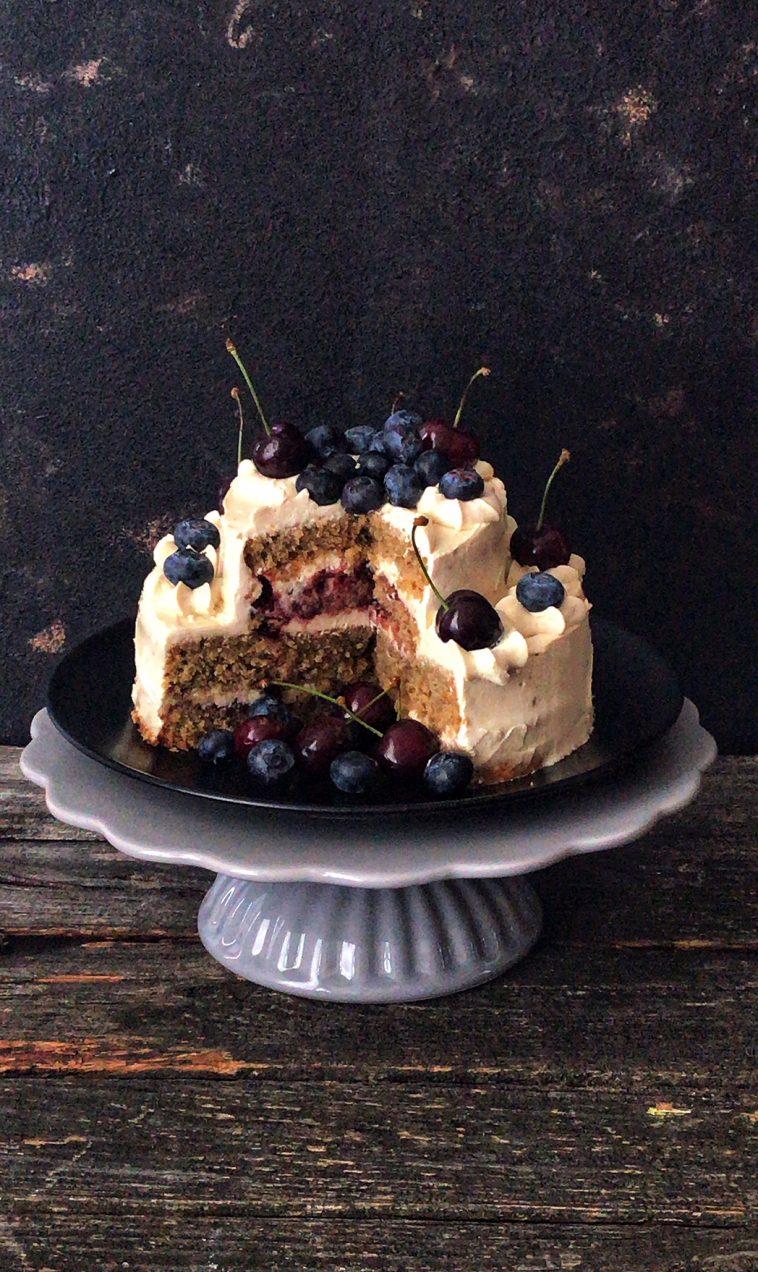 Cappuchino Torte mit Mascarpone-Creme