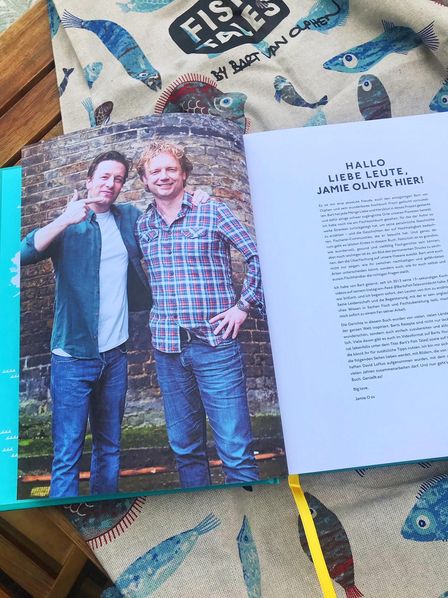 Bart van Olphen mit Jamie Oliver