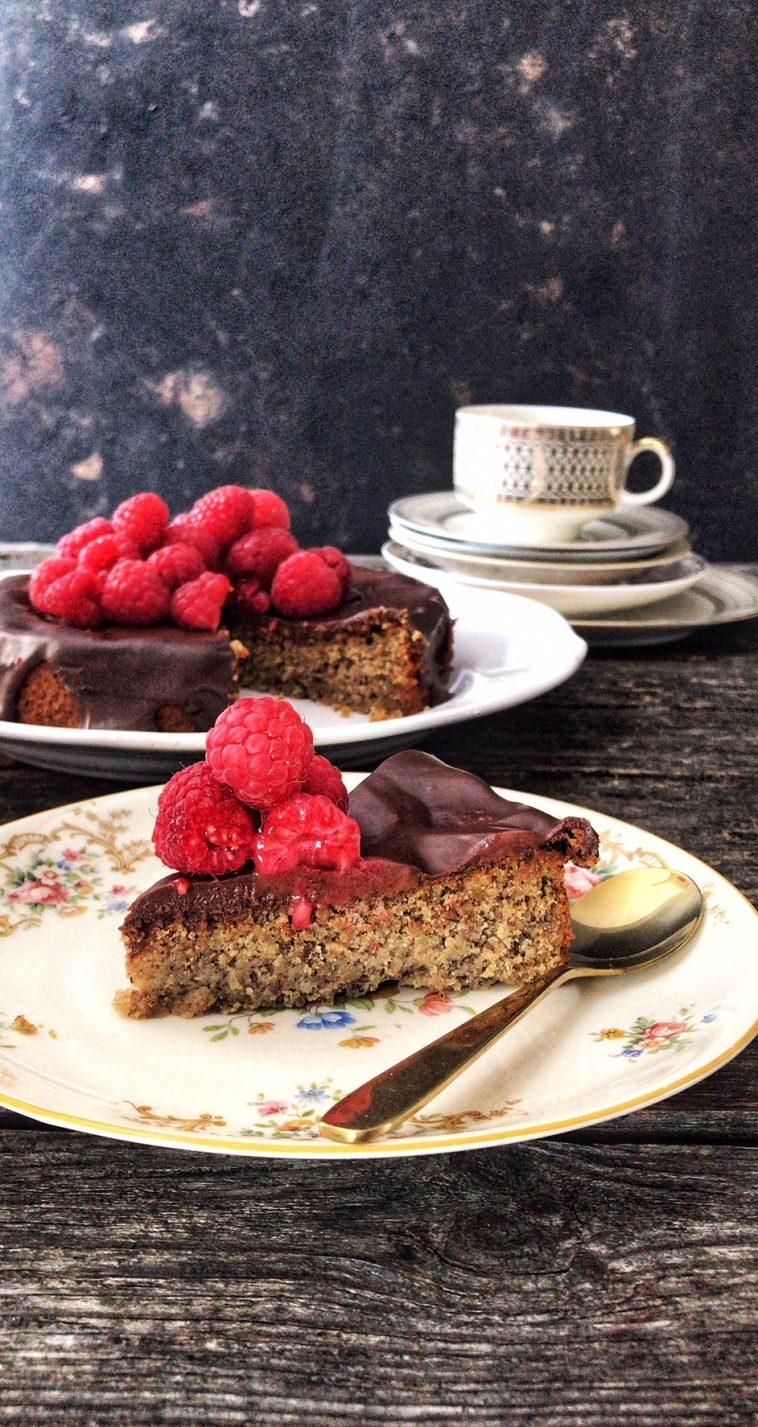 Espresso-Nuss-Kuchen Low Carb ohne Mehl
