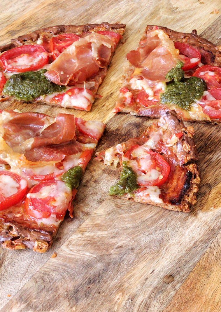 Die Beste Low Carb Pizza Holla Die Kochfee