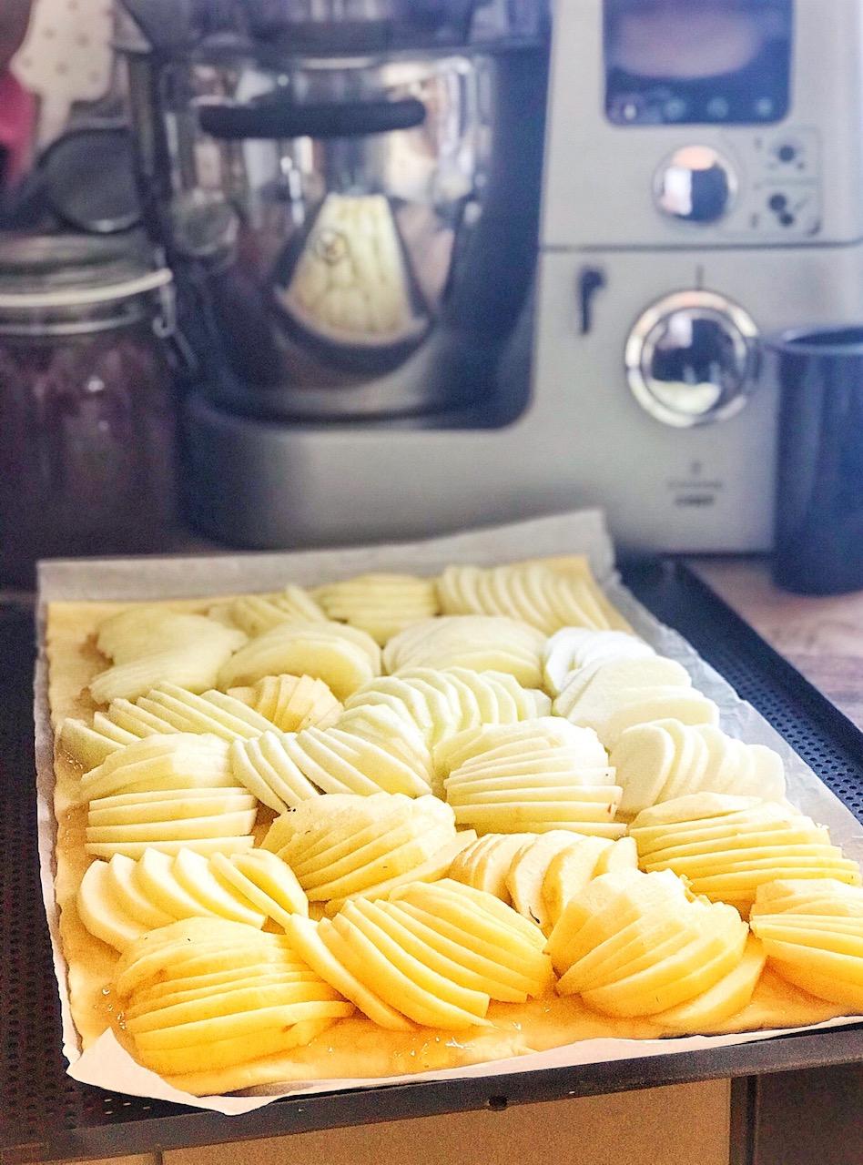 Der einfachste Apfelkuchen für Dummies - Zubereitung
