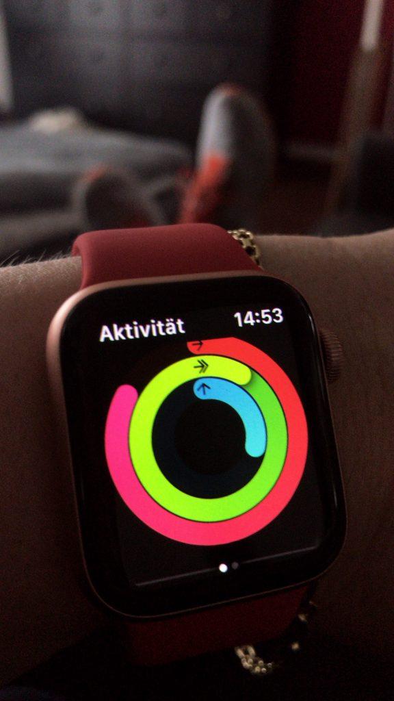 Aktivitätsringe Apple Watch
