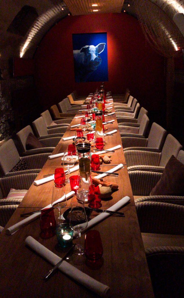 Restaurant Blaue Sau in Rothenburg
