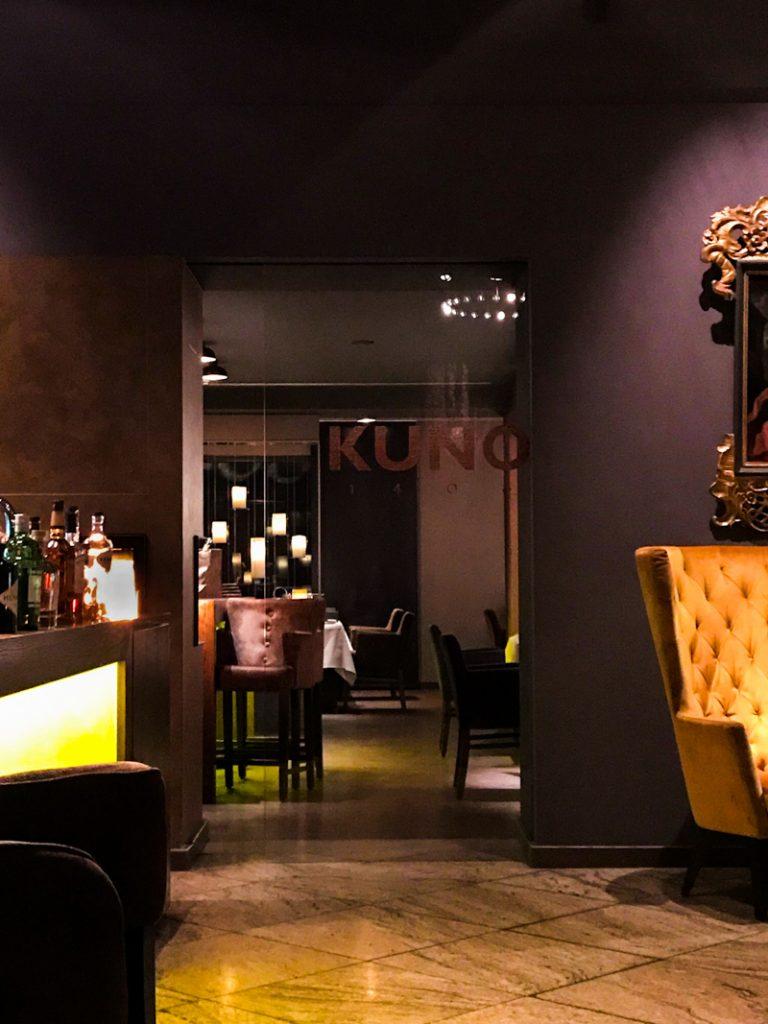Eingang zum Restaurant Kuno