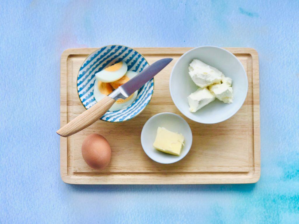 Zutaten Eieraufstrich