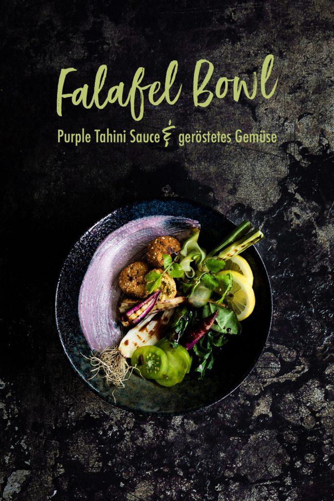 Falafel Bowl mit Gemüse