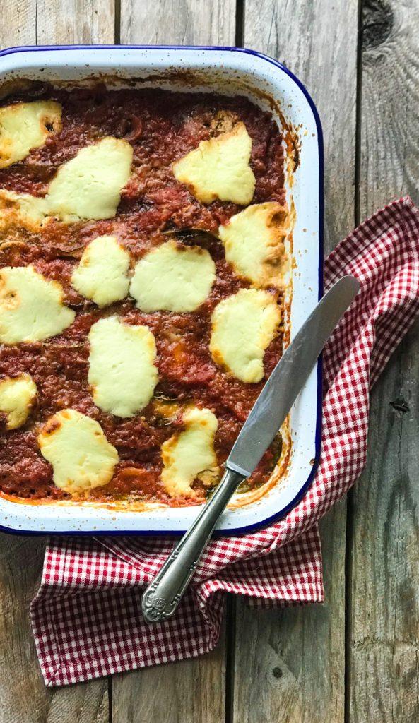 Parmigiana di Zucchine - Zucchiniauflauf