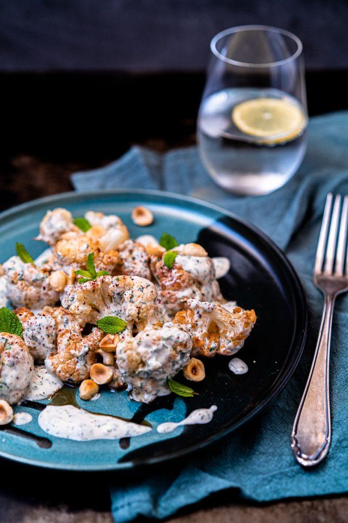 Frittierter Blumenkohl aus der Levante Küche