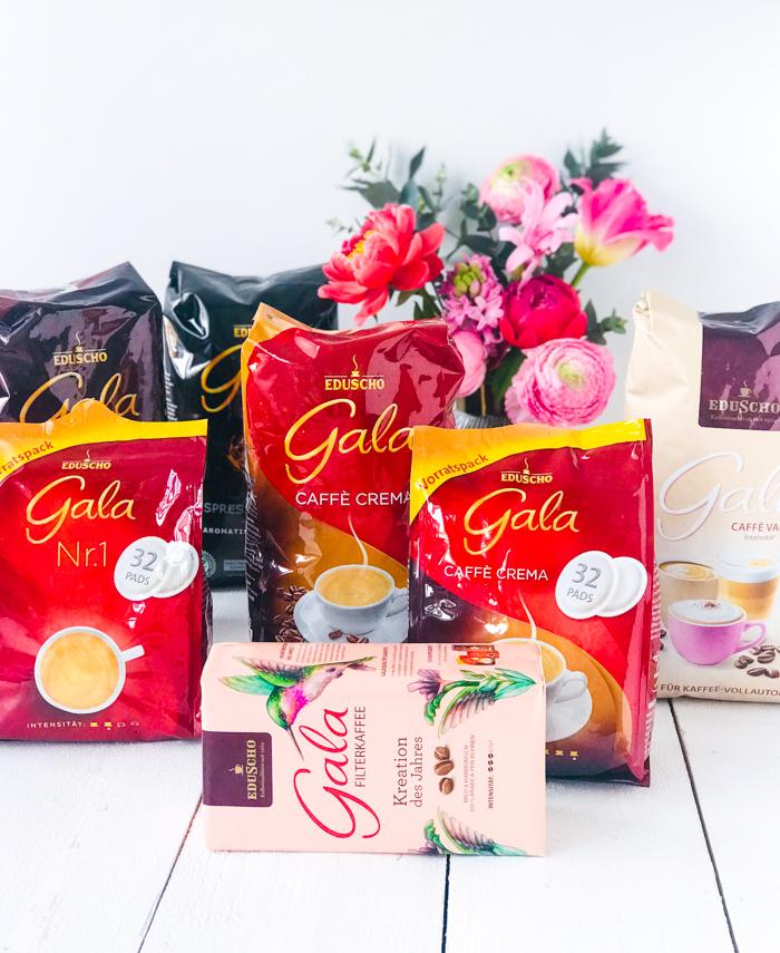 Gala von Eduscho Kaffee Sortiment