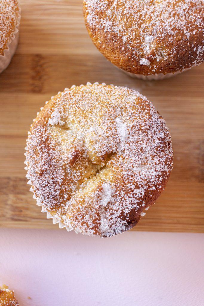 Bratapfelmuffins von oben