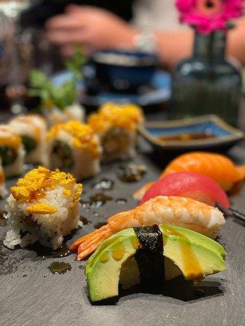 WeightWatchers Lila - Beispielwoche 5 und 6. Auswärts essen - Sushi