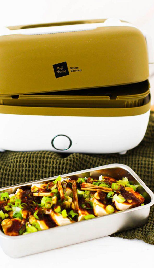Miji Cooking Box One Asia Tofu vor dem Garen
