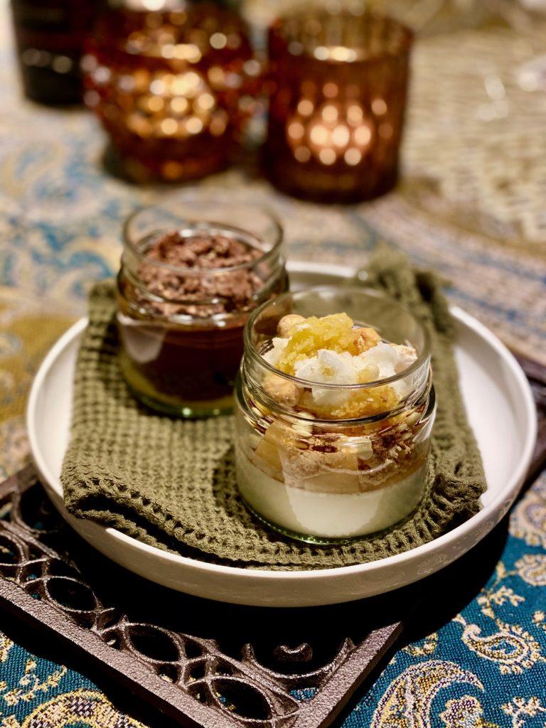 Die Desserts - einmal frisch und fruchtig, einmal Schokolade deluxe!