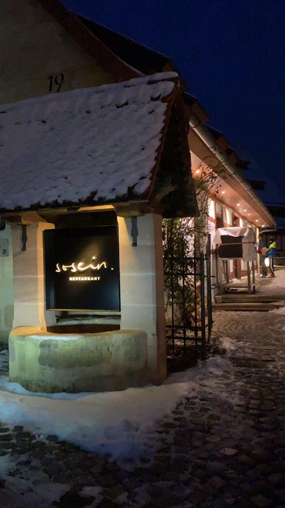 Eingang Sosein in Heroldsberg