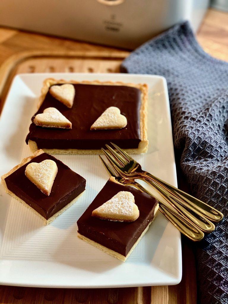 Weltbeste Schokoladentarte - ganz einfach