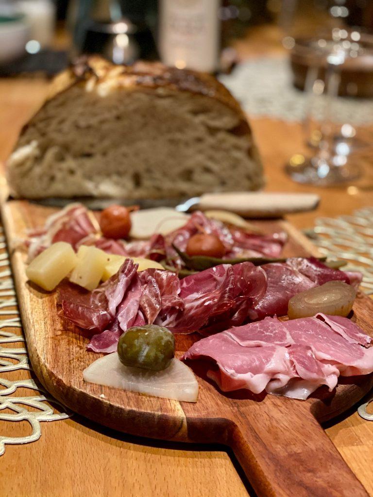 Sosein Brotzeitplatte mit Brot