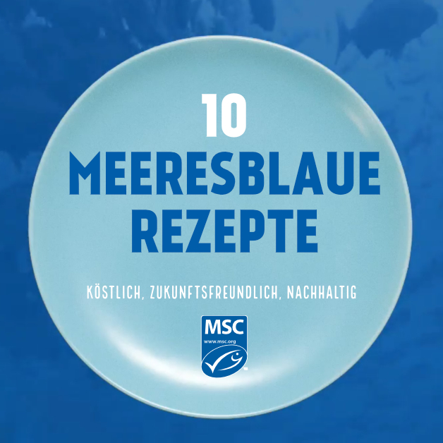 10 Meeresblaue Rezepte - Cover
