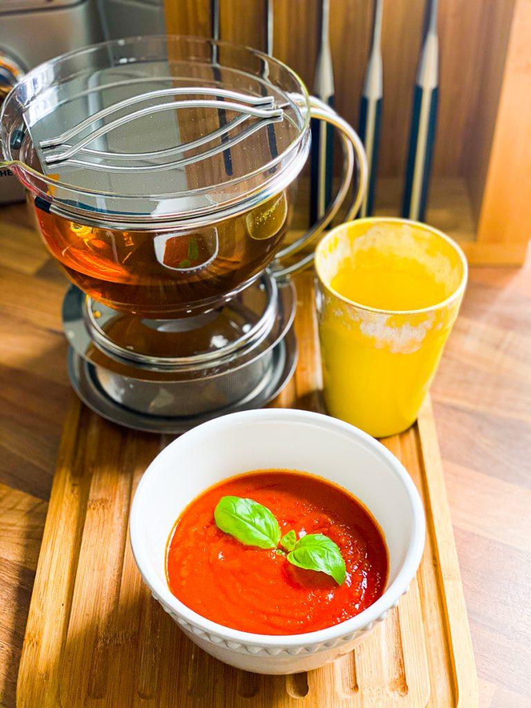 Saftfasten - meine Erfahrungen Teil 1 - Tomatensuppe am Entlastungstag