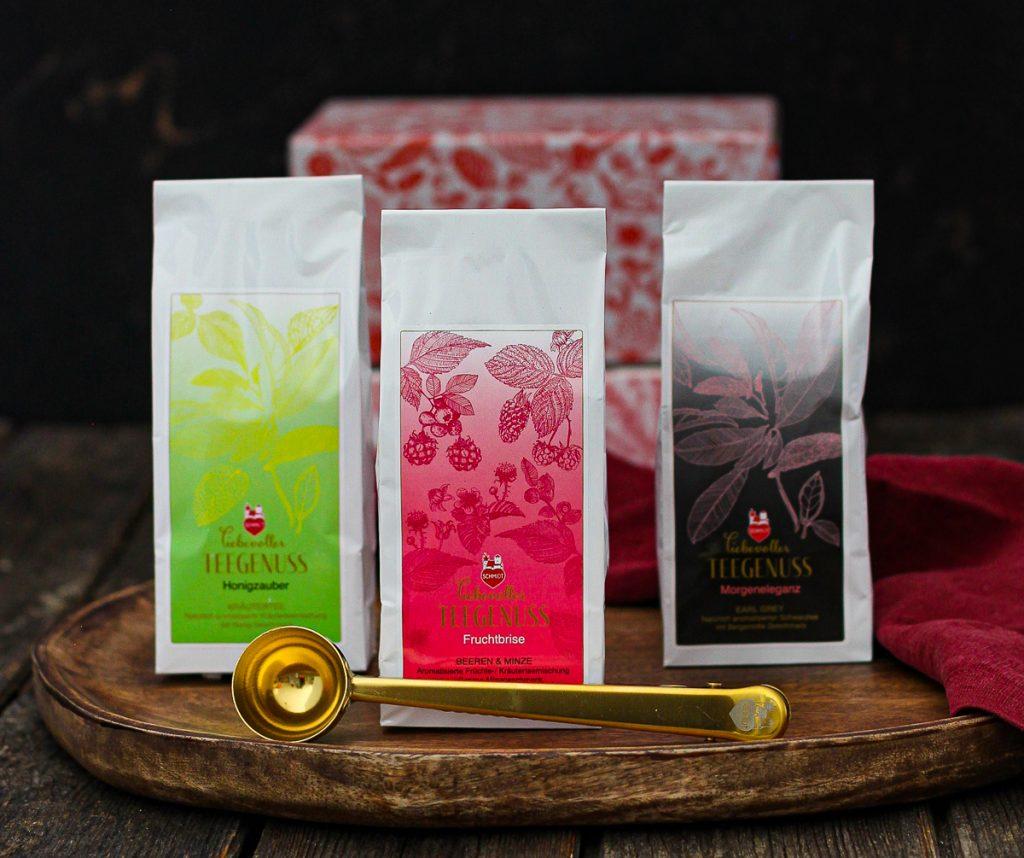 Liebevoller Teegenuss mit Lebkuchen Schmidt - die drei Probiersorten