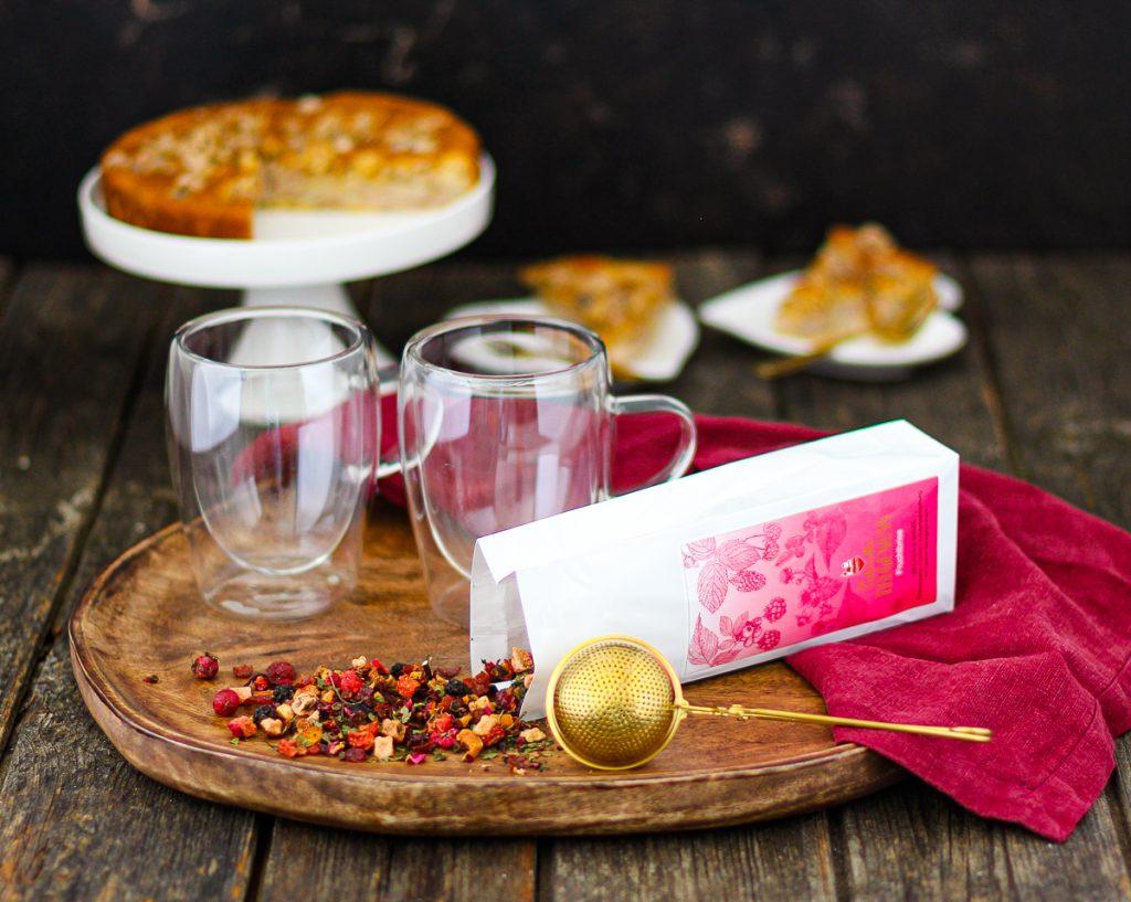 Liebevoller Teegenuss mit Lebkuchen Schmidt, ein Tee lose