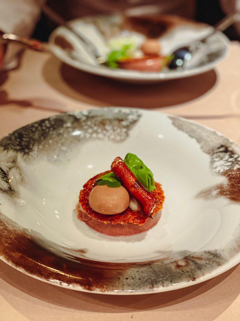 KUNO 1408 Dessert mit Zwetschge